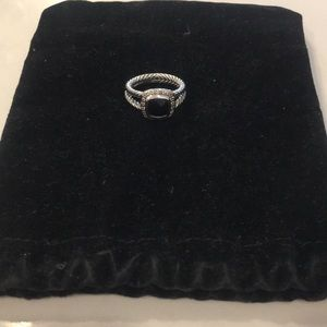 David Yurman onyx ring